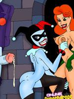 Superheroes hardcore bondage porn