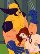 x-men superheroes porn