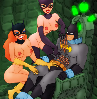 Batman becomes Gotham's Girl's sex slave!