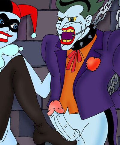Harley Quinn sexually dominates Joker!